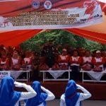 209 Barisan Gerak Jalan Indah Kolaka Ramaikan Hut RI Ke 74