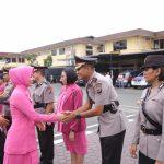 Kapolrestabes Pimpin Sertijab Mutasi Petinggi Kepolisian di Mapolres Medan