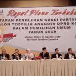 KPU Medan Tetapkan 50 Caleg Terpilih, Berikut Daftar Namanya