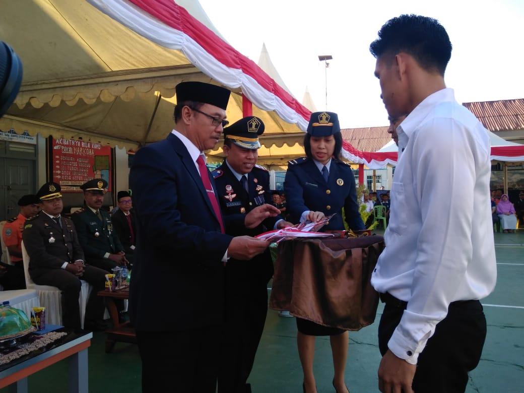 Hut RI Ke 74, 135 Napi Rutan Kelas IIB Kolaka Terima Remisi Satu Diantaranya Bebas