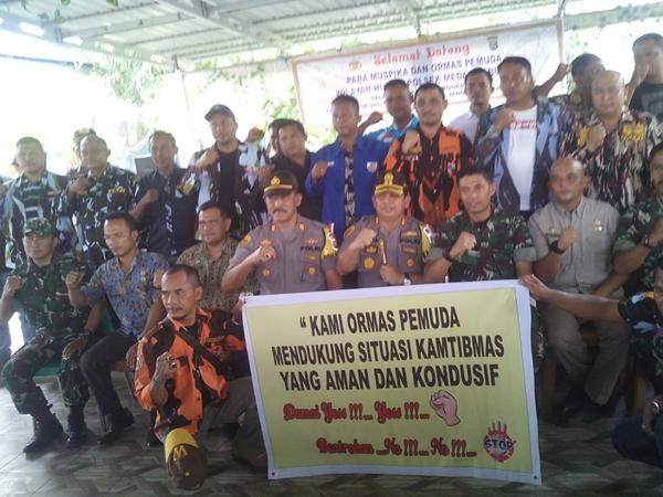 Kapolres Belawan Gelar Rapat Koordinasi Kamtibmas Bersama Muspika Dan Ormas