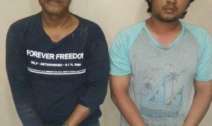 Todong Kasir Toko U Mart dengan Senta Tajam, dua orang pencuri Apes diserahkan ke polisi