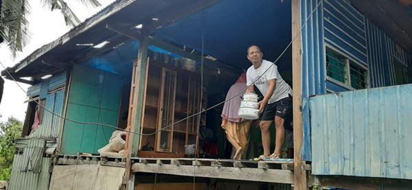 Angin Kencang Porak-porandakan Lusinan Rumah warga di Kolaka Utara