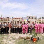 Peduli Lingkungan, Jajaran Polda Sumut bersama Bhayangkari Tanam 1500 Pohon