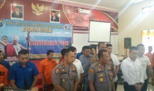 Bersama Sat Narkoba & Sat Reskrim Kapolres Pelabuhan Belawan Paparkan Tangkapan