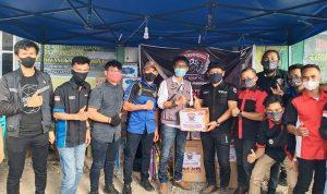 Riderhood Community Jeneponto for Humanity salurkan bantuan kepada warga terdampak banjir di tarowang