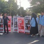 Gelar Aksi, KITRA Sulsel Galang Dukungan dan Menuntut Kenaikan Gaji TNI Polri sebesar 50 juta