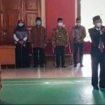 Rektor USN Lantik Dan Sumpah Dekan FTI Dan P3k