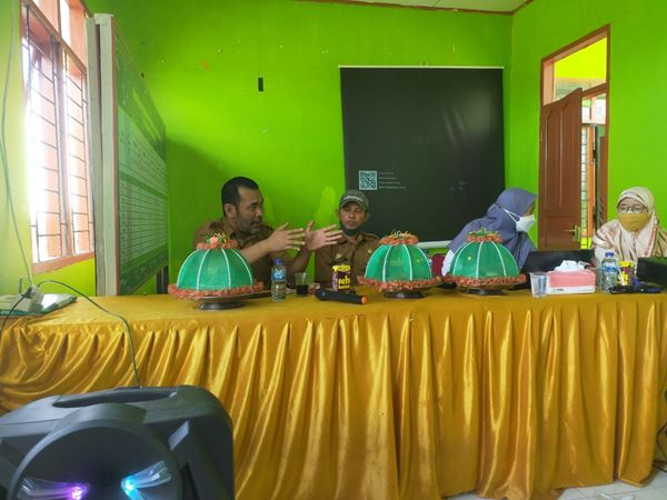TIM DITLIN Tanaman Pangan Lakukan Pengukuran Polygon DEM AREA DPI di Kabupaten Jeneponto